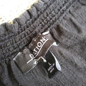 Notations Tops - Black Bohemian blouse Large